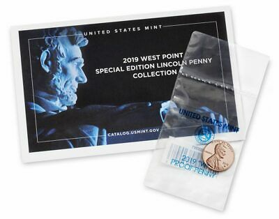 2019 W Proof Reverse Lincoln Cent From The Silver Set Second West Point 1 Cent
