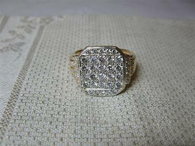 Tiffany 2.3 Ct Anillo con Diamante Platino 14k Retro