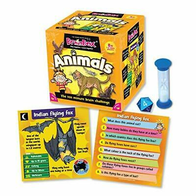 Brain Box Animals Educational Memory Card Game