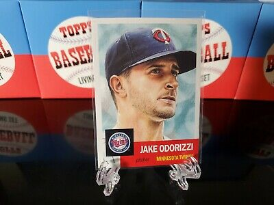 Jake Odorizzi TOPPS LIVING SET 2019 CARD #138 Twins 3164 Print Run