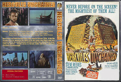 Hercules Unchained (1959) Steve Reeves - Rare Widescreen Dvd-R On Demand