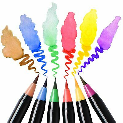 100 120 Colour Brush Pen Watercolor Drawing Painting Artist Sketch Manga Marker