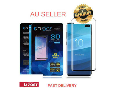 Nuglas 3D Samsung Galaxy  S10 Plus Curved Tempered Glass Screen Protector