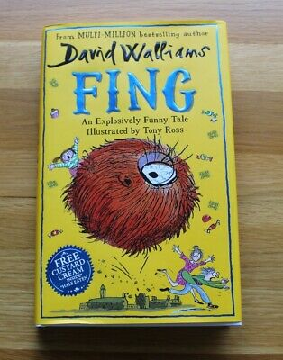 Fing By David Walliams, Hardback, 2019, As New Condition