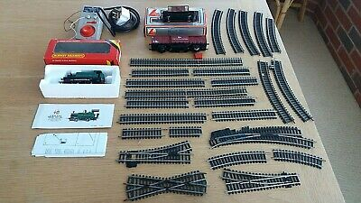 Vintage Hornby Model Train Items-Boxed Engine-Carriages-Track-Transformer-Lima