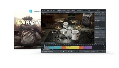 Toontrack Indiependent Sdx Sound Library Expansion Kit For Superior Drummer