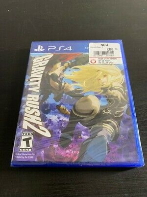 Gravity Rush 2 (Video Game) - Sony Playstation 4 PS4 (SEALED)