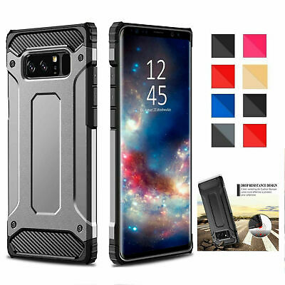 Hybrid Armor Case For Variou Samsung Galaxy Phone Shockproof Rugged Bumper Cover