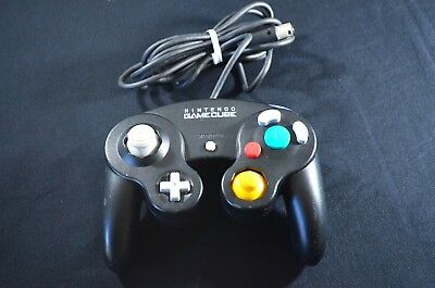 Official Nintendo GameCube Controller - Original Black - DOL-003 - Tested