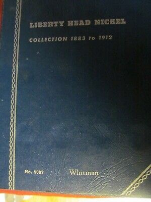 1883-1913 Liberty Head Nickel partial starter set.16 Coins in a  Whitman album.