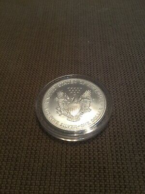 2000 Colorized American Eagle 1 Oz Silver Round
