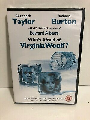 Who's Afraid Of Virginia Woolf? DVD NEW AND SEALED REGION 2 UK