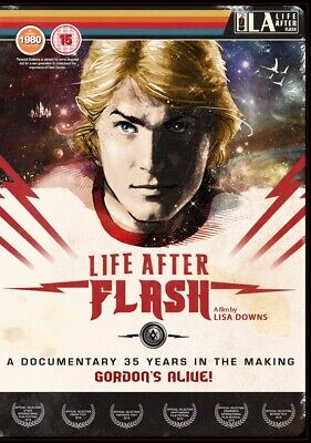 LIFE AFTER FLASH (2019) DVD UK VERSION (REGION FREE) - Flash Gordon doc