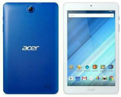 """ACER Iconia One B1-850 8"""" Tablet 16GB Blue Android - Cracked Digitizer"""