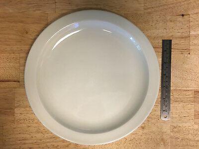 "Midwinter China STONEHENGE WHITE Dinner Plate (10 1/2"")"