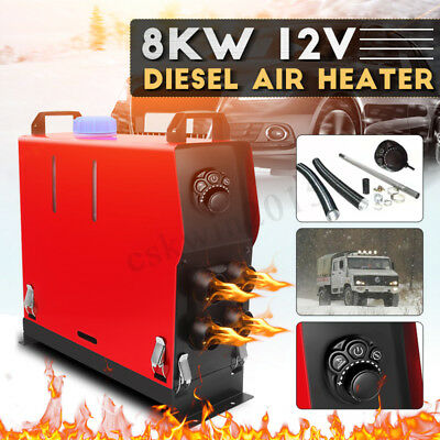 8KW Diesel Air Heater 12V All In 1 thermostat Truck Motorhome Boat Trailer
