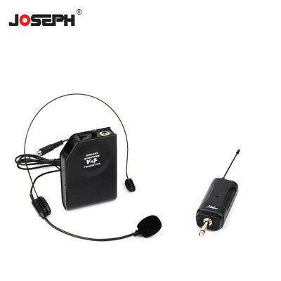 Wireless Teaching Tour Guide Lecture Headset Microphone Mic 3.5 6.5mm Receiver