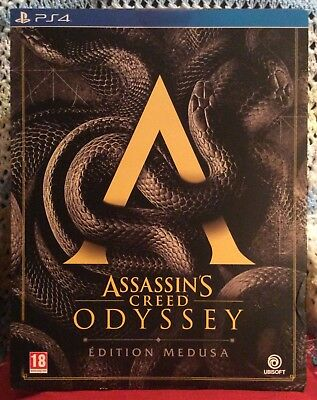 ASSASSIN'S CREED ODYSSEY MEDUSA - Neuf/PS4 COLLECTOR