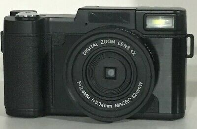 24MP Digital Camera 3'' Full HD 4x Digital Zoom Camera Flip Screen