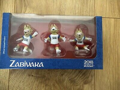 NEW ZABIVAKA WOLF CLASSIC set 3 toys FIFA 2018 RUSSIA World Cup