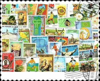 Benin : 100 Different Stamps Collection