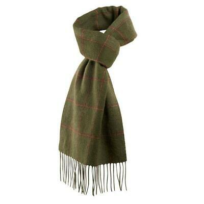 Harkila Romesdal Wool Scarf Warm Olive One Size Unisex Green Winter Accessories