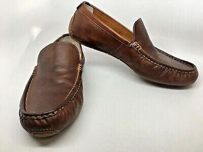 a661f8451f5 COLE HAAN Somerset Venetian Brown Sz 11.5 M Men Driving Moccasin Loafers  VGC!