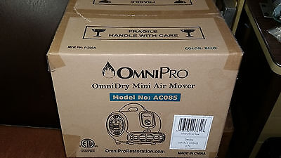 NEW OmniPro OmniDry Mini Air Mover and Carpet Dryer AC085