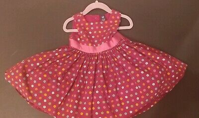 b78ab3828c Baby Gap Girl's 18-24 Mos Full Circle Skirt Dress Attached petticoat Floral  Euc