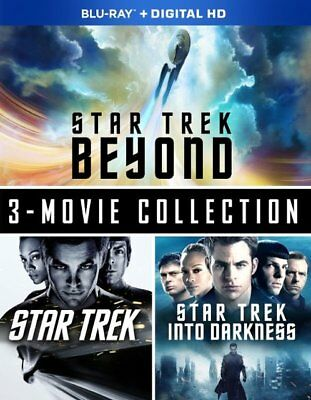 Star Trek Beyond: Three-Movie Collection (ALL BLU-RAY) NO DIGTIAL COPY