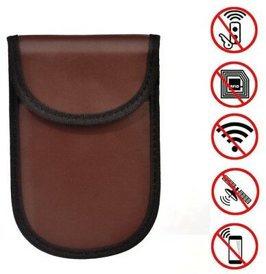 Car Key RFID Signal Blocker NFC Blocking Keyless Pouch Bag Card Phone Gift UK