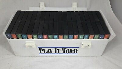 Play It Today Orbis Complete Keyboard Piano Course Book Cassette Tape Set Rare