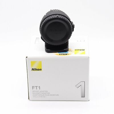 Nikon Mount Adapter FT1 (Compatible NIKKOR F Mount Lenses) J1 J2 J3 J4 J5 V1 S1