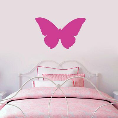 Butterfly Silhouette Wall Decal - Animal, Bug, Insect, Girls, Bedroom, Sticker