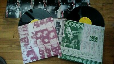 THE ROLLING STONES Exile On Main St. Double LP Original With Postcards Unipak