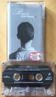 Eurythmics Peace Cassette Tape Thai Import Annie Lennox Thailand Rare