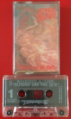 Morbid Angel Blessed Are The Sick Cassette Tape Death Metal