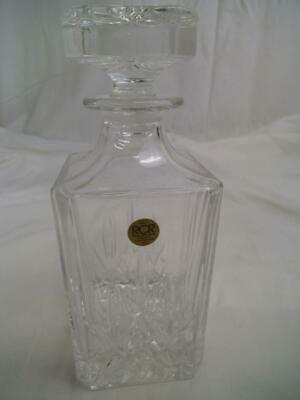 Rcr Royal Crystal Rock Cristallo Al Piombo 24% Italia Decanter Label