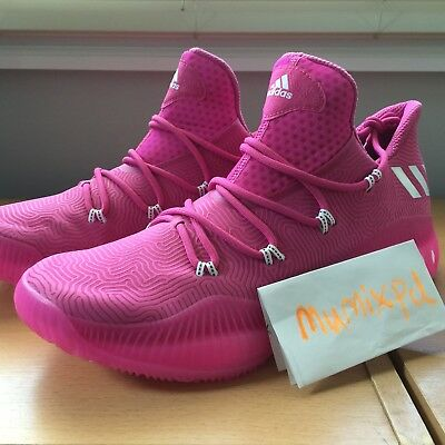 590dcb0f569 ADIDAS CRAZY EXPLOSIVE LOW byw NBA BCA sample pink pe boost BY3151 New Sz 13
