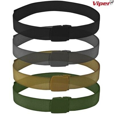 """Viper Speed Belt Mens Up To 48"""" Abs Buckle Webbing Army Camo Tactical Sports"""