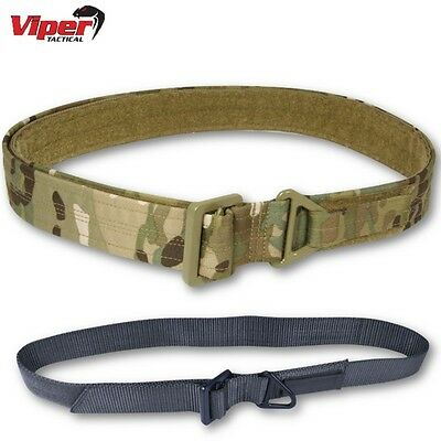 "Viper Military Tactical Rigger Belt Extremely Tough 30"" - 40"" Mens Army Police"