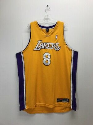 abe2d43d3ed Vintage Kobe Bryant  8 Los Angeles Lakers NBA Nike Authentic Jersey Size 56