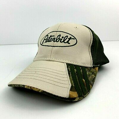 212e5e02901f0 Peterbilt Men s Baseball Cap Trucker Hat One Size Adjustable Camo Mesh Green