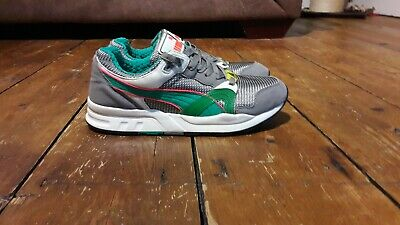 the best attitude 1a126 074a6 Mens Puma Trinomic XT1 Release part 2 Grey and Green Trainers Size 8