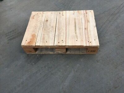 2 x Small Pallet Wooden Pallet Mini Pallet Used Wooden Pallet 66x46cm