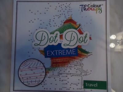 Dot To Dot Extreme - Travel- Adult Difficulty Activity Book - Top Quality