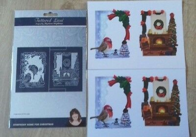 Tattered Lace Dies - Symphony Home for Christmas + Paper Pack