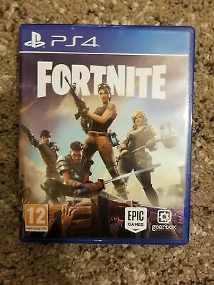 Fortnite Ps4 Playstation 4 Physical Disc Version Rare Game