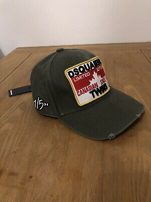 DSQUARED2 Baseball Cap Keeping It Real Outback New