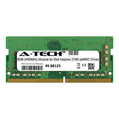 A-TECH 8GB 2400MHZ DDR4 RAM for Dell Inspiron 3185 (eMMC Drive) Laptop  Memory